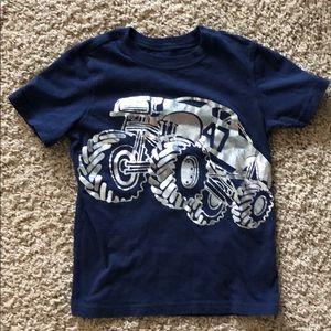 Carter's Monster Truck short sleeve shirt